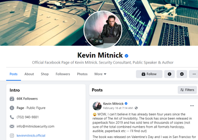 how-to-find-cybersecurity-speakers-for-your-digital-event-kevin-mitnick-facebook